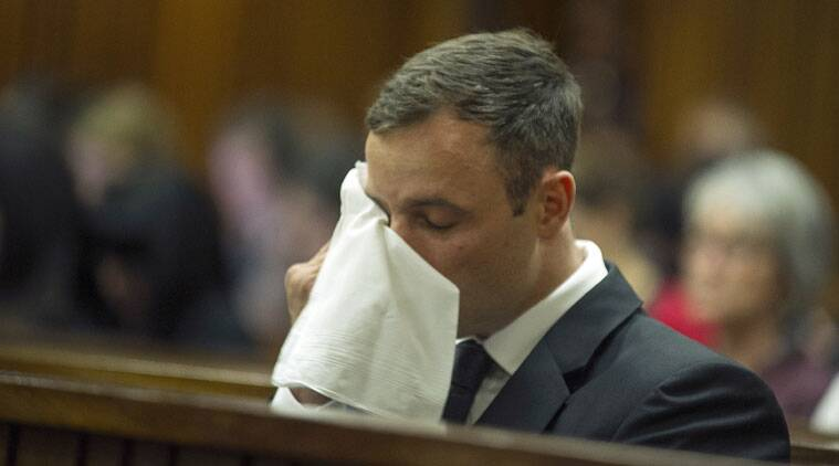 Oscar Pistorius gets five-year jail term for killing girlfriend