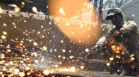 Data last week showed output in eight core industries, which account for more than a third of overall factory production, rose 5.8 percent in August on a year earlier. (Reuters)