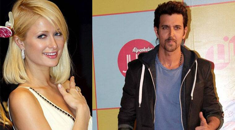 Apparently, Hrithik Roshan had enjoyed a night out with Paris Hilton the other day.