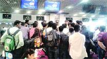 Passengers stage dharna at airport after GoAir cancels two flights at the last minute due to technical snag