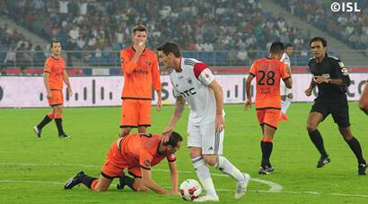 NorthEast United hold Delhi Dynamos for a goalless draw