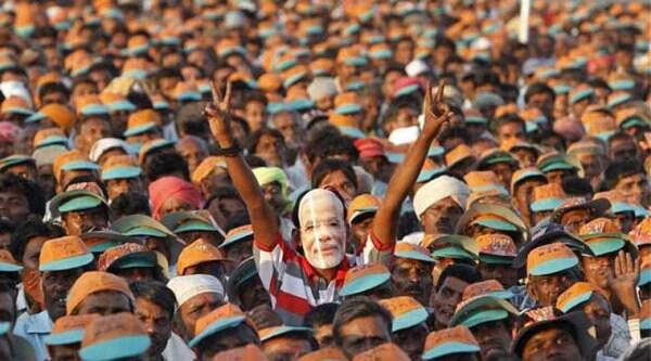 """This heavy polling is against the Congress misrule and corruption and in favour of BJP's good governance and development and credible leadership,"""" BJP general secretary JP Nadda said."""