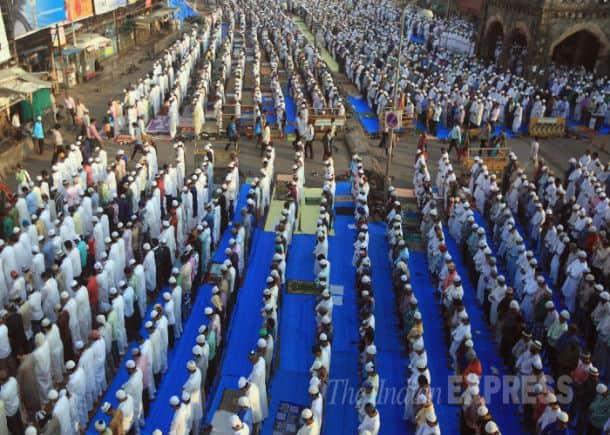 Muslims celebrate Eid across the world