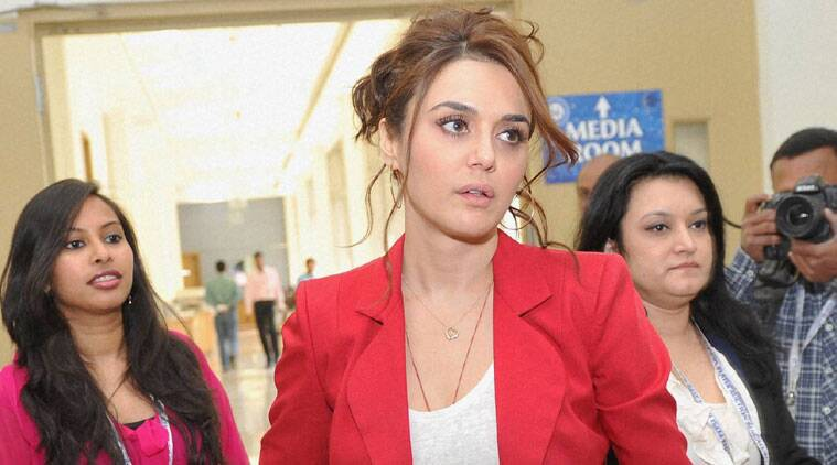 Preity took to Twitter to share her experience.