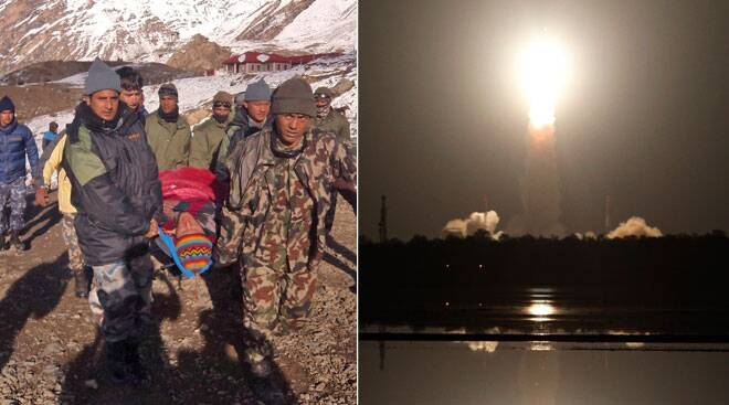 PSLV launch; Indian among 21 trekkers killed in Nepal avalanche