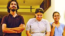 Rahul Tewari, Dhwani Vij, Anannya Tripathyi  of the Third Space Collective