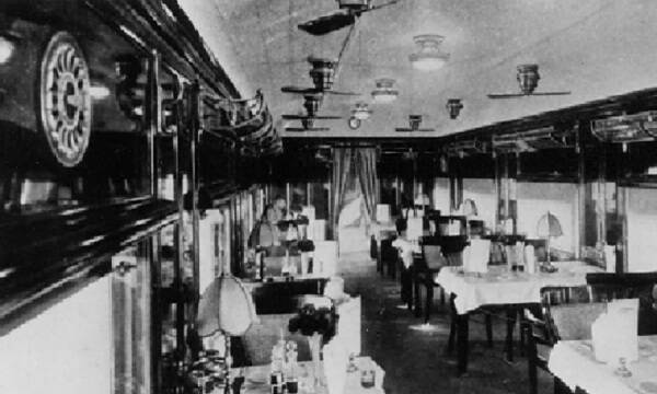 Dining Car on Imperial Mall