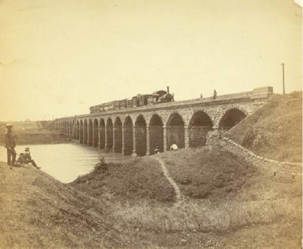 The first steam train of 1853 covered a  distance from Bombay to Thane in an hour and 53 minutes