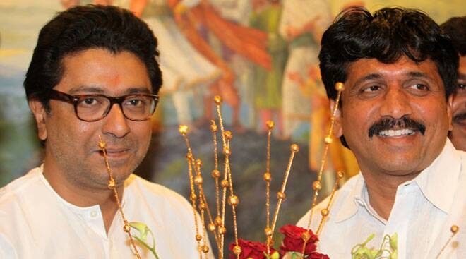 Raj Thackeray meets the lone MNS winner