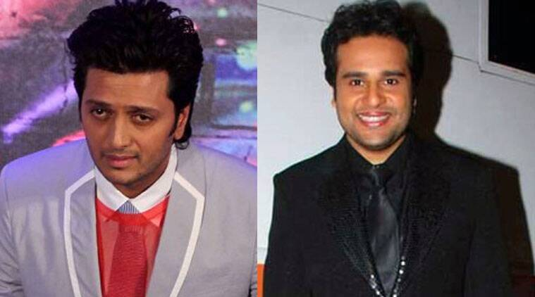 """Krushna describes the situation as a happy """"coincidence""""."""
