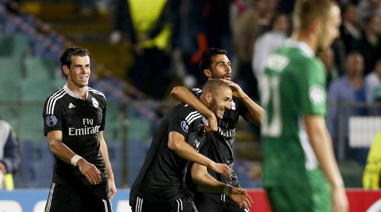 Real Madrid trailed early against Bulgarian newcomer Ludogorets Razgrad, which was only formed as a club 13 years ago. (Source: Reuters)