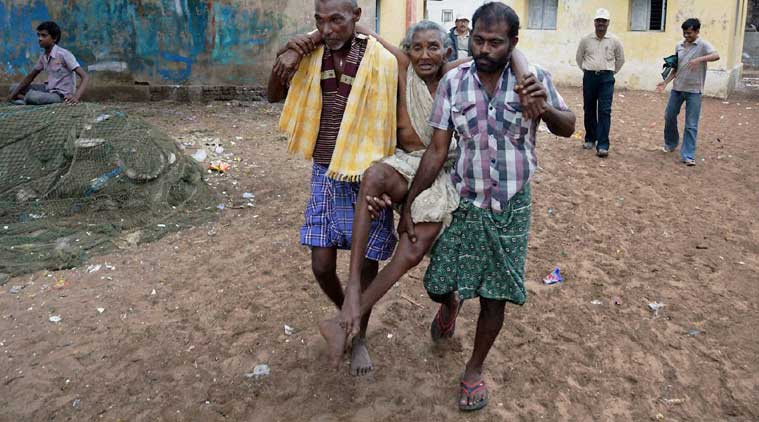 A total of 258 houses were damaged in three villages of Chouparan and 35 in Katkumsandi blocks, Kumar said. (Source: PTI)