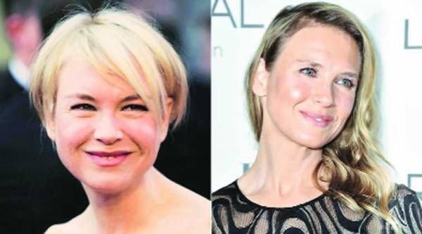 The actor in a photograph from 2010 (left); and the now 45-year-old at a recent awards function