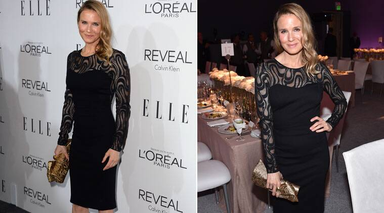 Renee Zellwege says that her new looks are due to a healthier lifestyle.