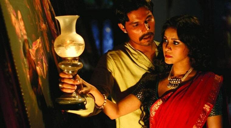 A still from the movie Rang Rasiya