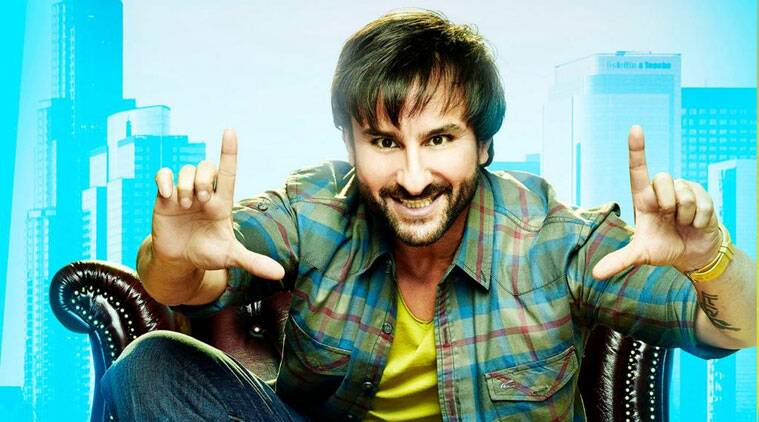 The first look of the film that has Saif Ali Khan in a rugged jeans and shirt was released Wednesday morning.