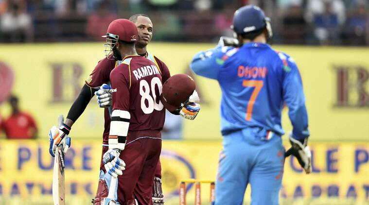 Marlon Samuels, with an  unbeaten 126, equalled his highest — 126 vs Bangladesh — in One-day Internationals in Kochi on Wednesday (Source: PTI)