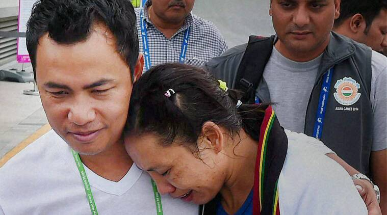 Sarita Devi waited for nearly an hour as she figured out how to file a protest (Source: PTI)
