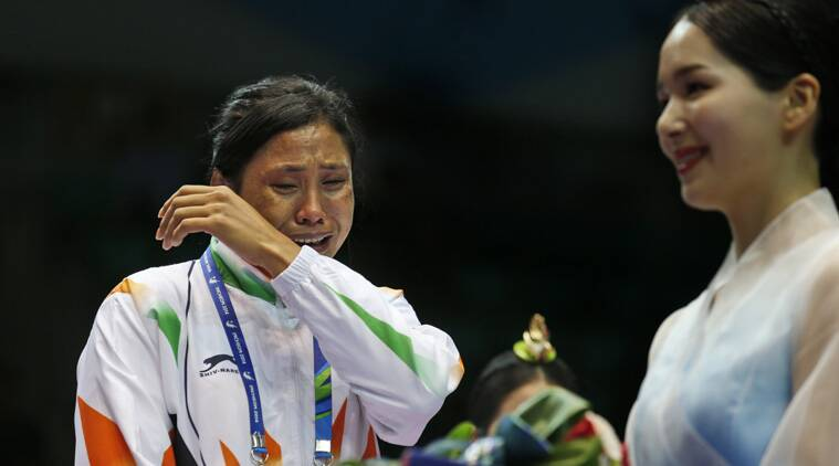 Angry over poor judgement, boxer Sarita Devi stuns officials, leaves bronze at podium