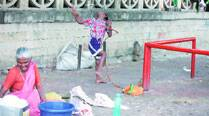 Home for Diwali, Lakhan back at bus stop, tied to pole