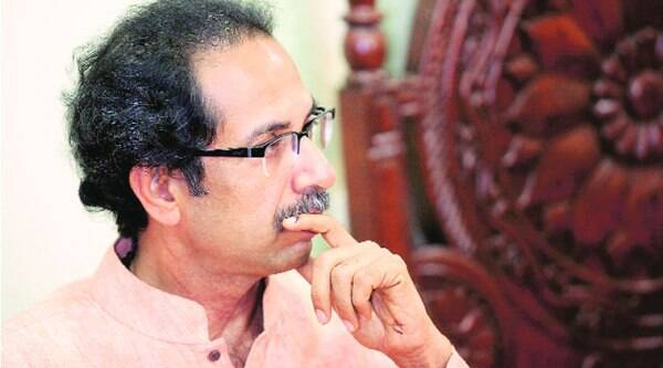 Uddhav in Mumbai shortly after the poll results.