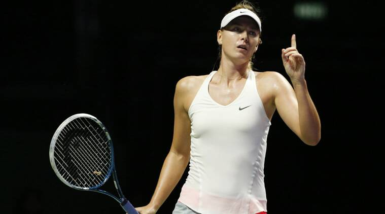 Sharapova As a result of her eleimintaion from WTA Finals in Singapore
