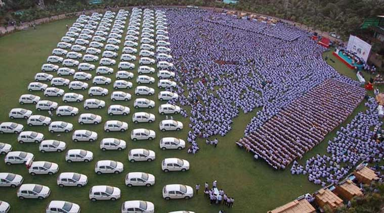 Many of those who got cars, did not even know how to drive. The beneficiaries were short listed from 2000 artisans. (PTI Photo)
