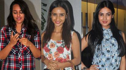 Some work, some play for Sonakshi, Patralekha, Sonal