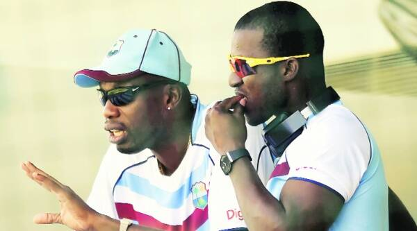 Ambrose (L) told the players they should make any decision they wanted to after the game.