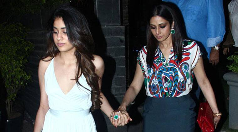 Sridevi, Sridevi daughter, Jhanvi Kapoor, Jhanvi Kapoor sridevi, sridevi Jhanvi Kapoor, Jhanvi Kapoor instagram, Jhanvi Kapoor debut, Jhanvi Kapoor karan johar, Jhanvi Kapoor bollywood, Jhanvi Kapoor sridevi daughter, bpney kapoor, entertainment news, indian express, indian express news