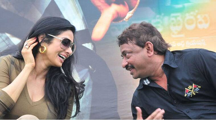 Recently there were reports that RGV has changed the title of this movie to 'Sridevi'.