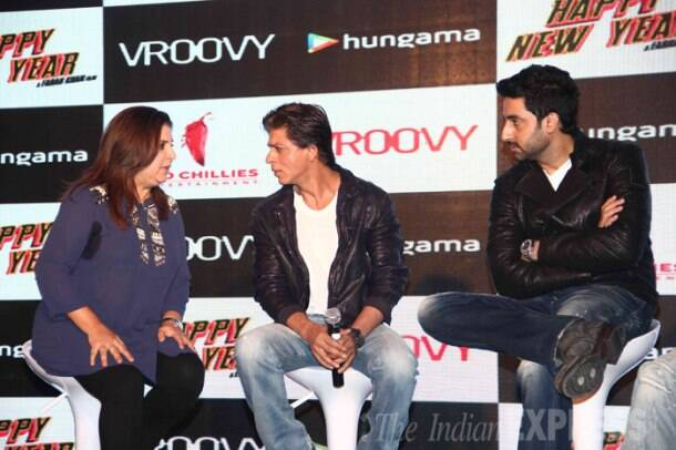 'Happy New Year' boys Shah Rukh Khan, Abhishek, Sonu Sood celebrate the film's success
