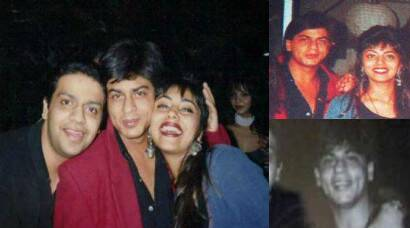 Shah Rukh Khan, wife Gauri and some pics from their younger days
