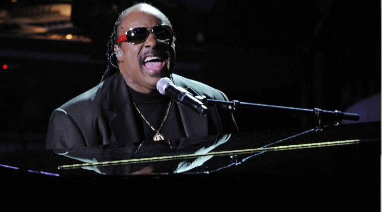 Stevie Wonder will lead America's largest festive celebration on the streets of LA on November 30. (Source: AP)