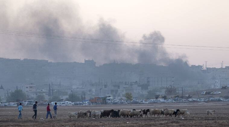 syria firing, syria attack, Damascus attack, Damascus firing, syria Islam Army, Islam Army syria, syria bombing, syria terrorism, syria terrorists, syria millitants, syria news, world news, indian express