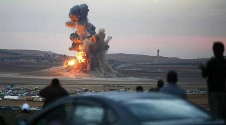 A firefight between militants in Syria and Jordanian border guards killed one gunman and wounded two.