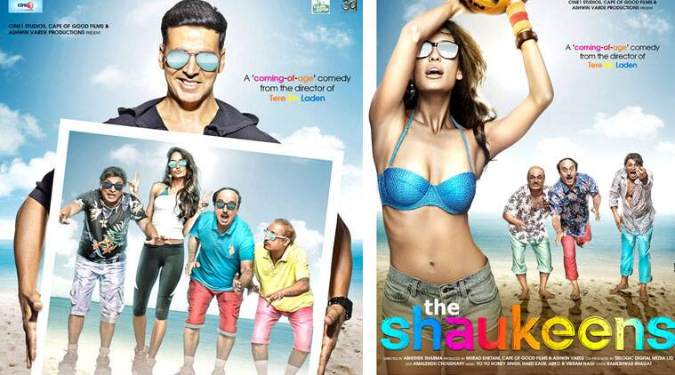 """Akshay will do a cameo as himself in 'The Shaukeens' and the 28-year-old 'Queen' actress essays the role of a crazy fan of the Bollywood star. """"I still can't believe that I am doing a film with Akshay."""