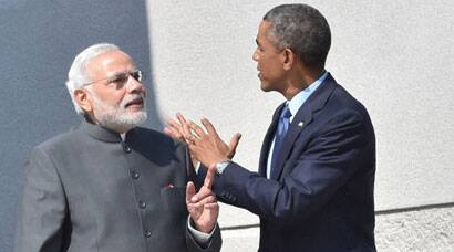 Narendra Modi holds talk with Barack Obama