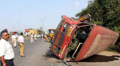 Seven injured in Thane-Borivli bus accident