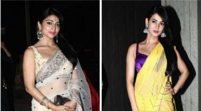 Sonal Chauhan, Shriya Saran party for Diwali