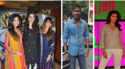 Of launches and birthdays: Ajay, Parineeti; Shilpa, Bipasha, Tabu get together
