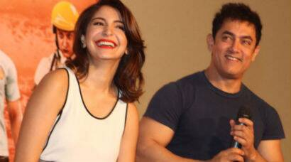 PHOTOS: Aamir Khan, Anushka Sharma launch 'PK' teaser on Diwali