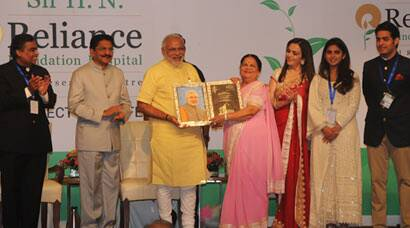 Narendra Modi inaugurates HN Reliance Foundation hospital