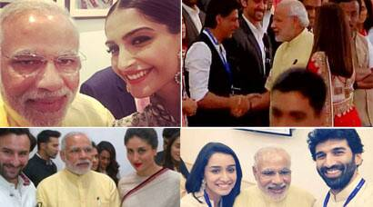 When Sonam, SRK, Saif, Kareena met PM Modi