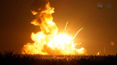 Unmanned private cargo rocket explodes after launch: NASA