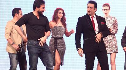 PHOTOS: Saif, Kalki, Ileana, Govinda gear up for their 'Happy Ending'