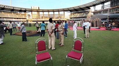 No ODI this, see how Wankhede is preparing for Fadnavis' swearing-in