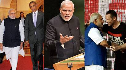 Top 10 moments of Narendra Modi's US visit