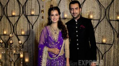 PHOTOS: Dia Mirza engaged to Sahil Sangha