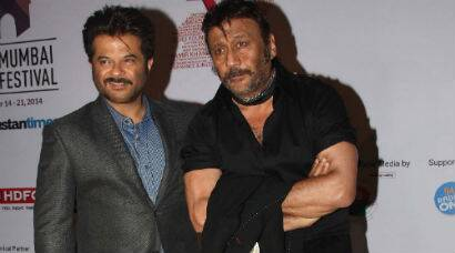 B-Town's 'Ram Lakhan' Anil Kapoor, Jackie Shroff grace MAMI 2014